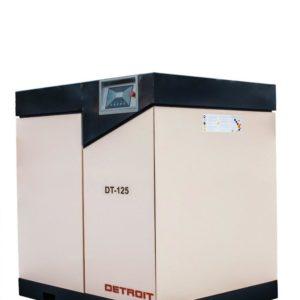 Detroit Rotary Screw Compressor 90kw DT125